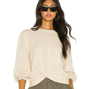 Joie Stavan Sweater Sz M Flax Color Fall New Tags